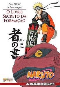 Naruto - Guia Oficial de Personagens - O Livro Secreto da Formação
