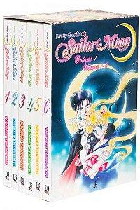 Box Sailor Moon Coleção 1 Vol.01 a 06