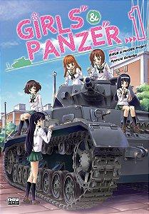 Coleção Girls & Panzer Vol.01 a 04