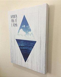 Canvas Aponta pra fé