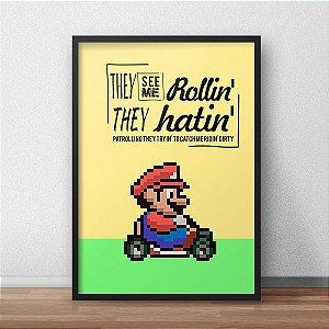 Pôster Mario Kart Ridin'