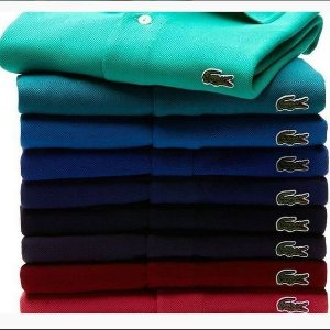 KIT COM 5 CAMISAS POLO MARCA LAC