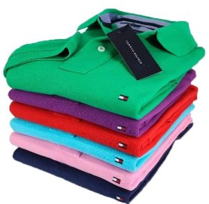 KIT COM 5 CAMISAS POLO MARCA TH