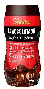 Achocolatado Diet Stevita - Caixa com 12 unidades