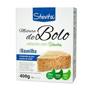 Mistura para Bolo sabor Baunilha - Caixa com 12 unidades