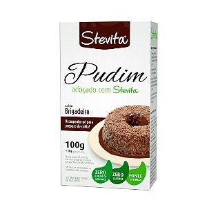 Mistura para Pudim Sabor Brigadeiro - Caixa com 12 unidades