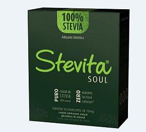 Stevita Soul Adoçante Premium - Caixa com 24 unidades