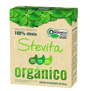 STEVITA ORGÂNICO SACHÊ - 50mg - Caixa com 24 unidades