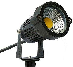 ESPETO PARA JARDIM LED BRANCO FRIO 5W IP65 XLX