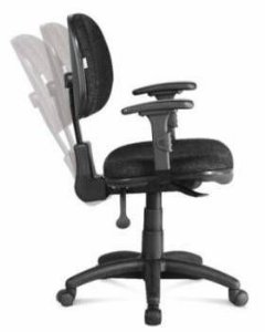 Cadeira de Escritório Ergonômica Executiva