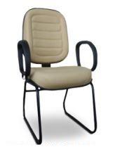 Cadeira Diretor Fixa Costurada