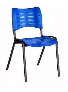 Cadeira Plast Azul Empilhavel