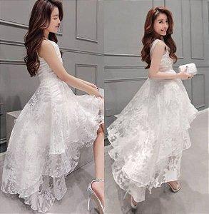 Vestido Vintage Rendado
