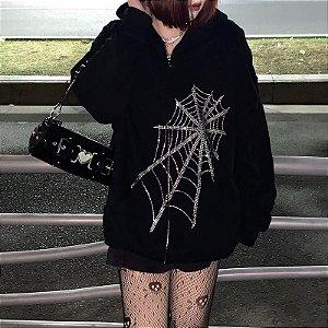 Casaco Aranha de Brilhos