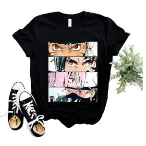 Camiseta Naruto Ninjas