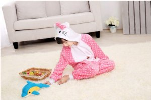 Pijama Infantil (Kigurumi) - Hello Kitty