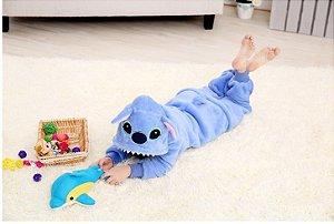 Pijama Infantil (Kigurumi) - Stitch
