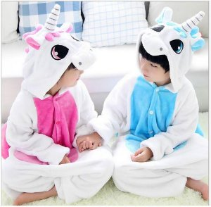 Pijama Infantil (Kigurumi) - Unicórnio