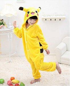 Pijama Infantil (Kigurumi) - Pikachu