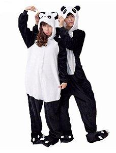 Pijama Kigurumi do Panda - Dois Modelos