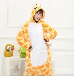 Pijama Kigurumi de Girafa