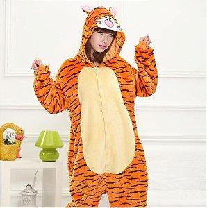 Pijama Kigurumi do Tigão (Ursinho Pooh)