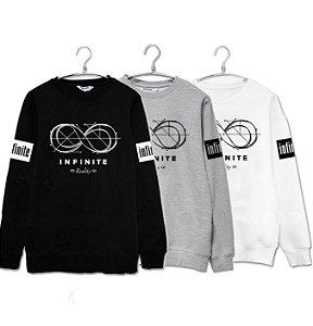 Moletom Kpop Infinite - Três Cores