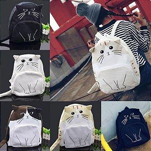 Mochila de Lona Kitty-Cat - Várias Cores