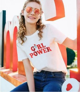Camiseta GIRL POWER - Duas Cores
