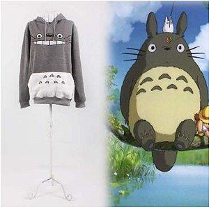 """Moletom Hoodie """"Meu Amigo Totoro"""" - Duas Cores"""