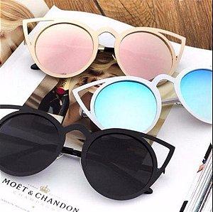 """Óculos Vintage """"Olhos d'Gato"""" - Várias Cores"""