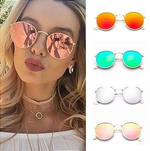 8c40da91b3b4a Óculos de Sol Vintage Extreme Color - Diversas Cores