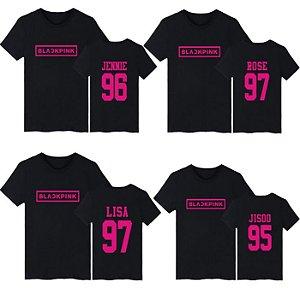 4f03253727df6 Camiseta Kpop BLACKPINK - Três Cores