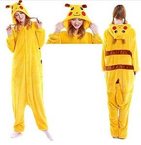 Pijama Kigurumi do Pikachu