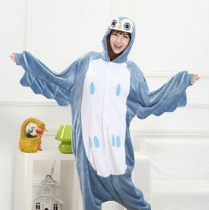 Pijama Kigurumi de Coruja
