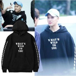 Moletom Hoodie GOT7 - What's Wild to You - Várias Cores