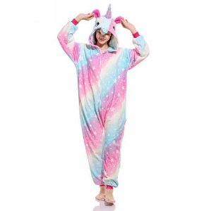 Pijama Kigurumi de Unicórnio RAINBOWSTAR