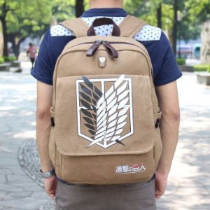 Mochila Grande de Lona ATTACK ON TITANS