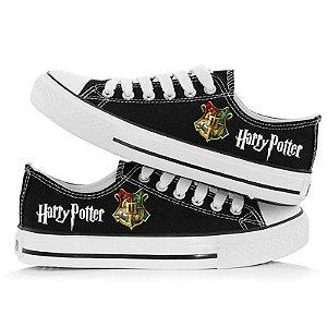 Tênis HARRY POTTER - Hogwarts - com Todas as Casas