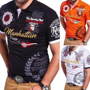 Camisa Gola Polo MANHATTAN - Duas Cores