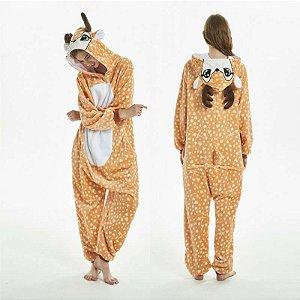 Pijama Kigurumi do Bambi