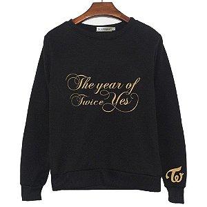 Moletom Kpop TWICE - The Year of Yes