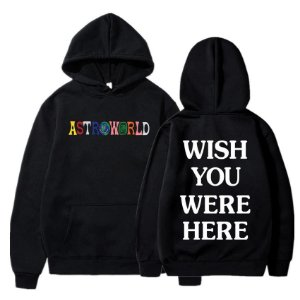 Moletom Hoodie ASTROWORLD Wish You Were Here - Duas Cores