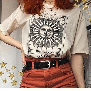 Camiseta SOL & LUA - Duas Cores