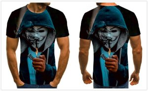 Camiseta ANONYMOUS INC - Diversas Estampas