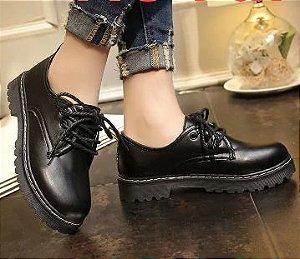 Sapato Sapato de Couro BASIC - Fosco & Envernizado