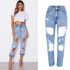 Calça Jeans Slim RIPPED FASHION - Três Cores