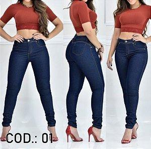 Coleção de Calça Jeans Cós Alto - Várias Cores