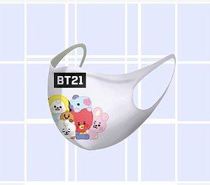 Máscara de Neoprene BTS BT21 - Todos Integrantes