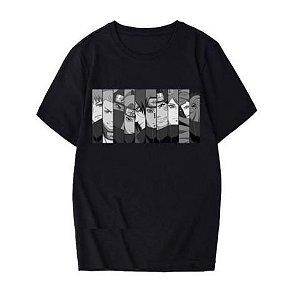 Camiseta NARUTO FACES